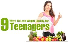 Teenage is the time where you require nutritious food to stay healthy  attain desired weight! Here is how to lose weight fast at home for teenagers! Learn the simple ways! check more here: http://e-healthytips.com/ #weightloss #diet #health #fitness #healthy