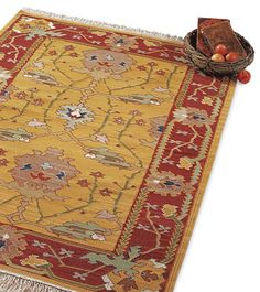 One of Crow's Nest Tradings' great rug and pillow selections