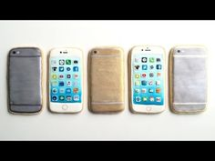 How To Decorate iPhone Cookies With Royal Icing! - YouTube