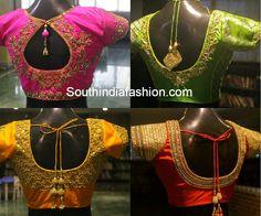 blouse designs for traditional silk kanjeevaram sarees