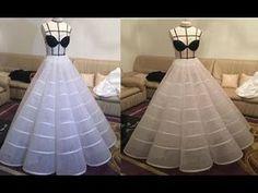 petticoat wedding dresses 2019 - shop now Fancy Wedding Dresses, Indian Wedding Gowns, Wedding Dress Sleeves, Wedding Dress Patterns, Corset Sewing Pattern, Gown Pattern, Dress Sewing Patterns, Circle Skirt Pattern, Fashion Show Dresses