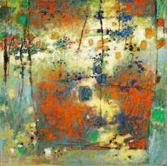 71-09 Birds Give an Evening Concert, oil on canvas, 48 x 48