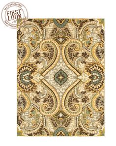 Found it at Wayfair - Shaw Rugs Melrose Gold Fernwood Rug Shaw Rugs, Brand New Day, Flooring Store, Gold Rug, Rugs Usa, Carpet Colors, Contemporary Rugs, Rugs In Living Room
