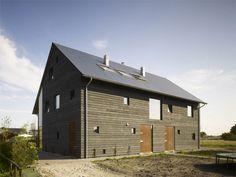 Moderni puutalo Hollannista