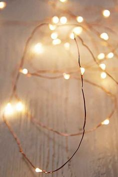 Firefly String Lights - Urban Outfitters $28 - Length: 15'