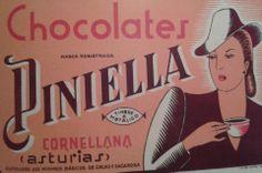 Chocolates PINIELLA, de Cornellana