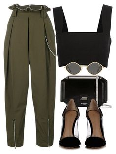 ❤ Alexander Wang, Givenchy, Yves Saint Laurent and Gianvito Rossi Classy Outfits, Chic Outfits, Dress Outfits, Summer Outfits, Fashion Outfits, Womens Fashion, Fashion Trends, Prep Fashion, Winter Outfits