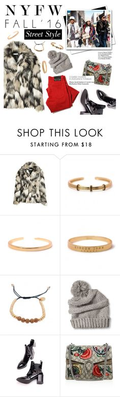 """""""Nyfw"""" by punnky ❤ liked on Polyvore featuring Gucci and Haute Hippie"""
