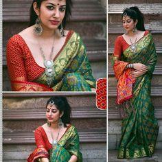 Kerala Saree Blouse Designs, Indian Beauty Saree, Indian Sarees, Saree Look, Beauty Full Girl, Beautiful Girl Indian, Silk Sarees Online, Pure Silk Sarees, Saree Dress