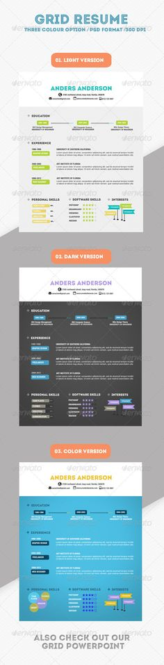 Clean Single page Resume Fonts-logos-icons Pinterest - single page resume