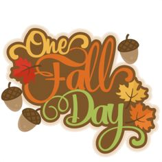 One Fall Day: Miss Kate Cuttables-- scrapbook title fall svg cut file cute cut files for cricut cute svg cuts free svgs