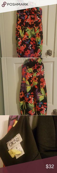Dress Multi color sub dress. Cache Dresses One Shoulder