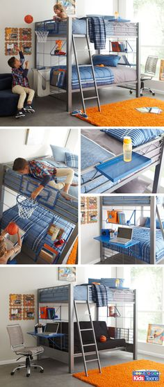 Give your children an ultra-cool sleeping space that they can customize at will!