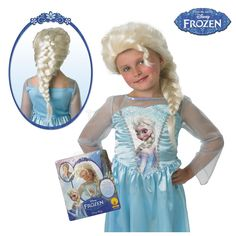 Peluca de Elsa - Dresoop.es Disfraces De Princesas a6eaf27cd473