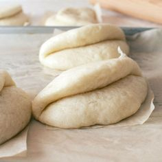 Recipe Bao buns by Amy lamera, learn to make this recipe easily in your kitchen machine and discover other Thermomix recipes in Breads & rolls. Steamed Bao Buns, Asian Tacos, Steamed Cabbage, Bulgogi Recipe, Bun Recipe, New Recipes, Cooking Recipes, Asian Recipes, Yummy Recipes