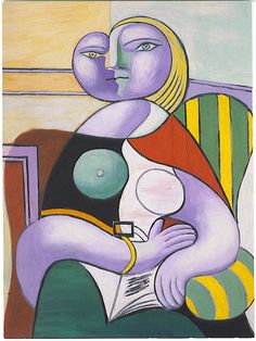 Picaso's Reading Woman