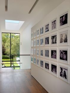 House Remodelling and Extension-Guildford - contemporary - hall - london - by Gregory Phillips Architects Hallway Decorating, Interior Decorating, Hallway Pictures, Family Wall Decor, Hall Design, Interior Design Tips, Home Fashion, Frames On Wall, Home Remodeling