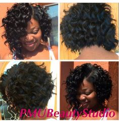short curly crochet hairstyles - When.com - Image Results