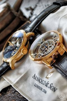 watchanish:  A Visit To The Royal Family of Arnold & Son.Read the full article onWatchAnish.com.