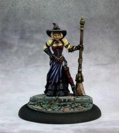 Sorciere Steampunk Witch Figurine Chronoscope Miniature | eBay