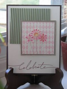 Layered Flowers by Miss Stamp-a-lot - Cards and Paper Crafts at Splitcoaststampers