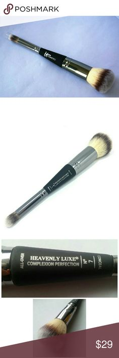 IT Cosmetics Heavenly Luxe Complexion Perfection#7 IT Cosmetics Heavenly Luxe Complexion Perfection#7  - Brand new in original case and authentic - Retails $48 plus tax  Your offer is welcome!! No lowballing please. IT COSMETICS Makeup Brushes & Tools