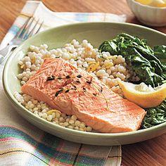 Poached Salmon   MyRecipes.com