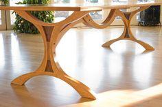 Outstanding Trestle Table 669 x 446 · 253 kB · jpeg Desk Legs, Table Legs, Bench Legs, Table Bases, Sheesham Wood Furniture, Table Furniture, Furniture Design, Kitchen Booths, Esstisch Design