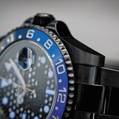 Patek Philippe, Black Rolex, Rolex Gmt Master, Breitling, Rolex Watches, Label