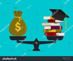 Pile Books Money On Scales Financial Stock Vector (Royalty Free) 1607325739 - Trend Book Buddies 2019 Investment Quotes, Investment Property, Investing Money, Real Estate Investing, Getting Into Real Estate, Stock Market Investing, Money Quotes, Best Investments, Real Estate Marketing