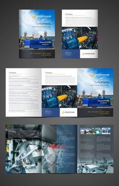 Sweet brochure to promote patented power plant equipment. by Vectogravic