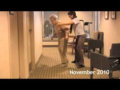 Balance Exercise for Seniors -- get ready grandma! We start tomorrow!