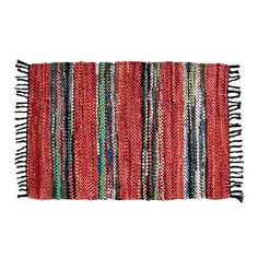 """Ess Ess Exports Broadway Handmade Red Area Rug Rug Size: Runner 1'10"""" x 5'"""