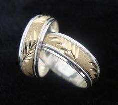 Anillos de matrimonio Band B, Gold Ring Designs, Couple Rings, Rings For Men, Silver Rings, Wedding Rings, Engagement Rings, Jewels, Bracelets