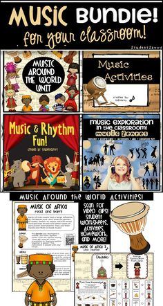 Tons of great music resources for your classroom!