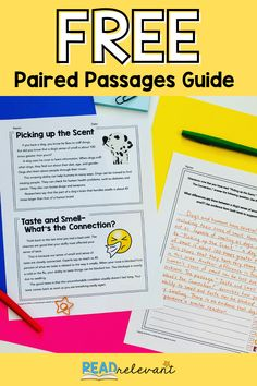 Are you teaching paired passages? Read Relevant has what you need! Get started with this free student guide to paired texts. Kids will read two passages and an exemplar response to a RACE Strategy question. Middle School Ela, Middle School English, Teacher Blogs, Teacher Resources, Close Reading Lessons, Teaching Reading, Learning, Student Guide, Reading Passages