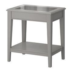 LIATORP Side table, white, glass, 22 Are you a romantic at heart? The delicate shapes and details are reminiscent of country living. Combine with other furniture in the LIATORP series for a complete, beautiful look. Living Room Seating, My Living Room, Home And Living, Ikea Liatorp, White Side Tables, Grey Glass, Affordable Furniture, Glass Table, Apartment Living