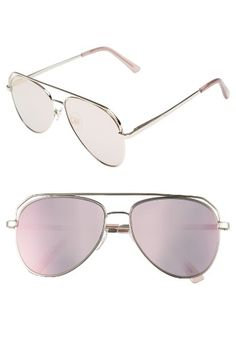 Free shipping and returns on Item 8 SM.3 57mm Aviator Sunglasses at Nordstrom.com. Full-coverage metal frames and mirrored lenses further the retro appeal of classic shades with weekend-ready style.