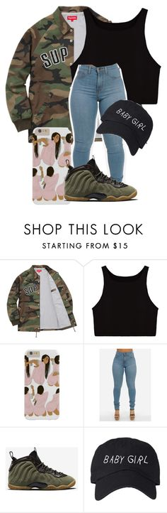 """Yee"" by thegoddessmila on Polyvore featuring NIKE"