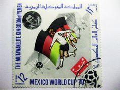 Yemen - Football World Cup 1970 Team Germany Stamp