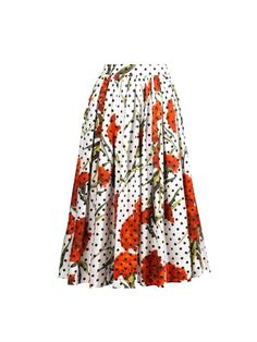EASTER BRUNCH || Dolce & Gabbana Carnation skirt
