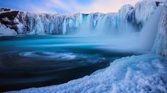Waterfall in Iceland wallpaper - Nature wallpapers - #29552