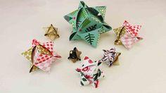 DIY Würfelsterne basteln | Tolle Sterne aus Fröbelstern-Papier | Origami...