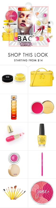 """Beauty Bag"" by tb-66 ❤ liked on Polyvore featuring beauty, Givenchy, HUGO, AERIN, Winky Lux, OPI, tarte, Sigma and Maybelline"
