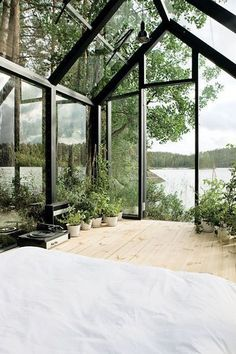 8 Tiny Vacation Homes That Prove Size Doesn't Matter #refinery29  http://www.refinery29.com/small-vacations-home#slide-4  There's not enough room to shower or cook in it, but this tiny glass shed in Finland makes for the ultimate sleeping space.