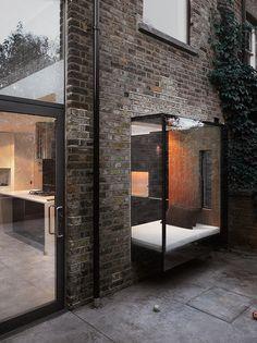 glass box-facade