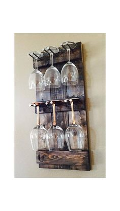 March 2020 To help you out with the selection of best and unique wine glass racks, here is a well-researched list of some best shelf & Stemware Glass Holders. Wine Glass Storage, Wine Glass Shelf, Wine Glass Holder, Glass Shelves, Hanging Wine Glass Rack, Unique Wine Racks, Wine Display, Wood Picture Frames, Kitchen Decor