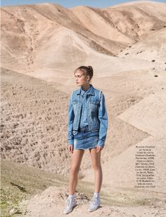 visual optimism; fashion editorials, shows, campaigns & more!: just jean: karolina waz by amit israeli for glamour france may 2014