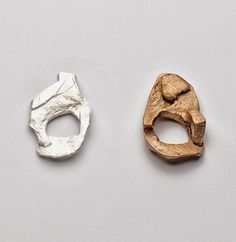 Iris Bodemer. Rings, 2012. Silver, bronze