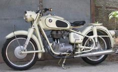 1950s BMW R26 Classic Motorcycle Pictures